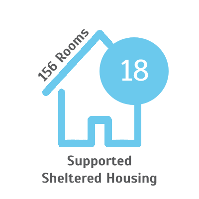 Supported Sheltered House Logo